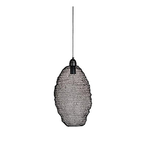 Lunzu Crochet Pendant Lamp Matt Black