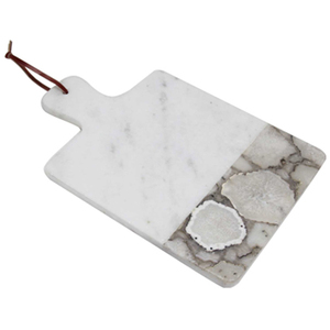 Square Marble Serving Board