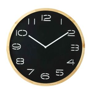 Leni Wall Clock Black