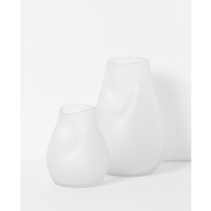 Yoko Frosted Glass Vase Large