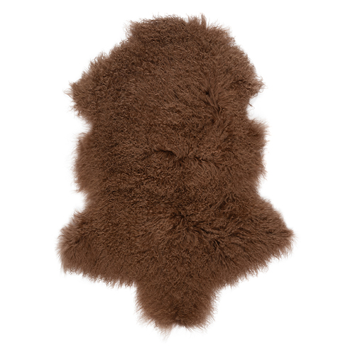 Mongolian Sheepskin Warm Toffee